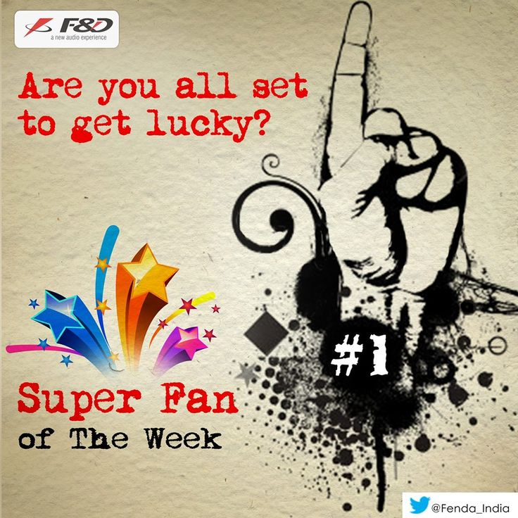We are on search of our next 'SuperFan of the week'.  Are you all set to get lucky?
