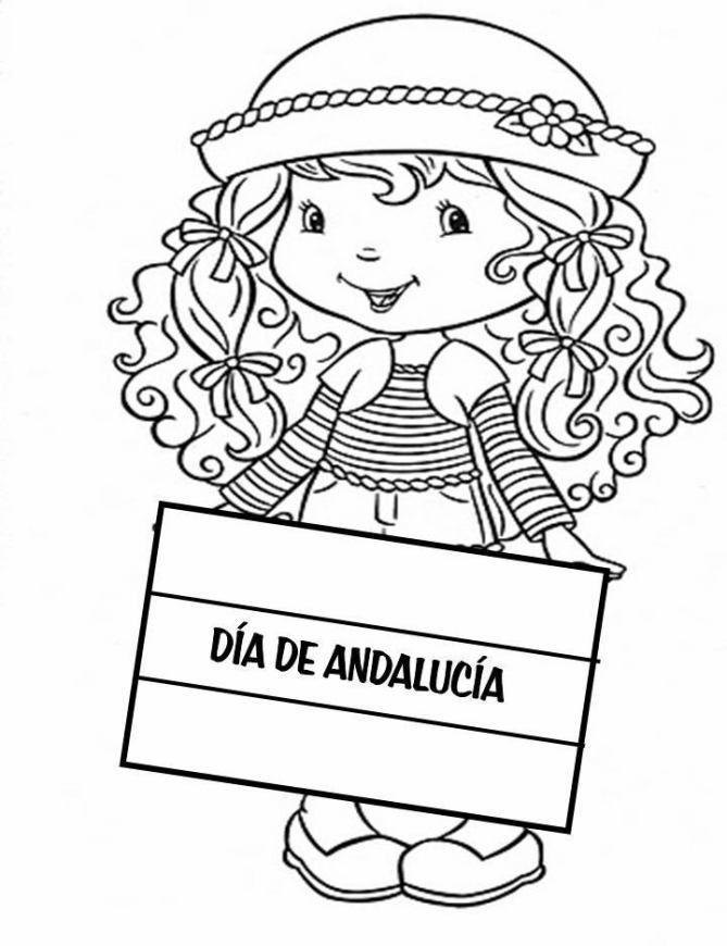 mejores 50 imágenes de dibujos del dia de andalucia en pinterest