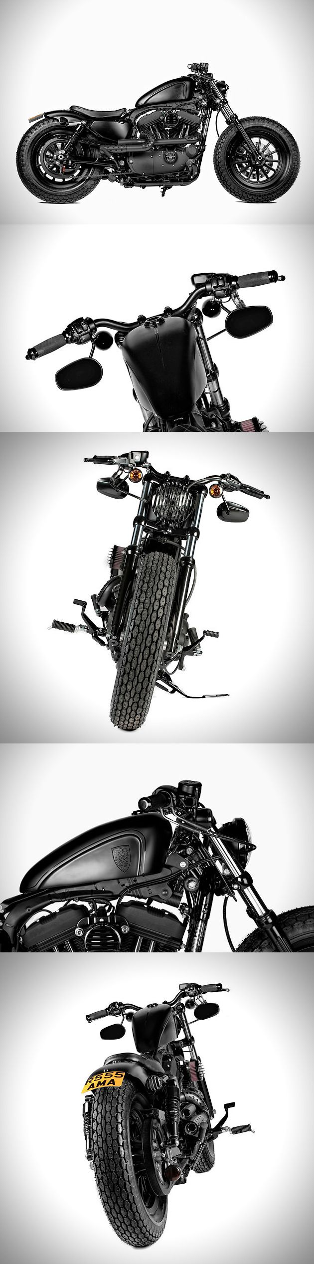 So fucking amazing --> HARLEY FORTY-EIGHT CUSTOM BY ROUGH CRAFTS