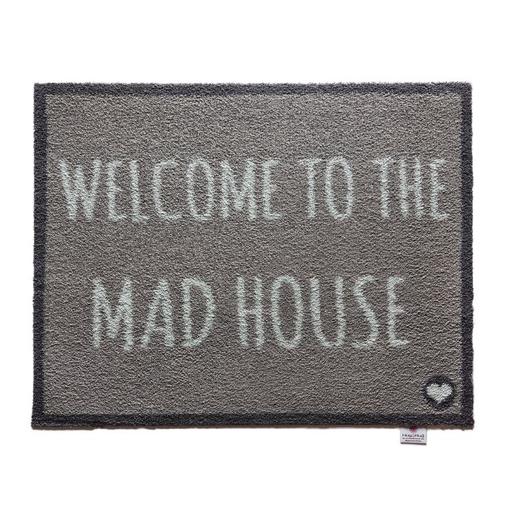 Discover the Hug Rug Home/Garden Collection Door Mat - Home 24 - Welcome to the Mad House at Amara