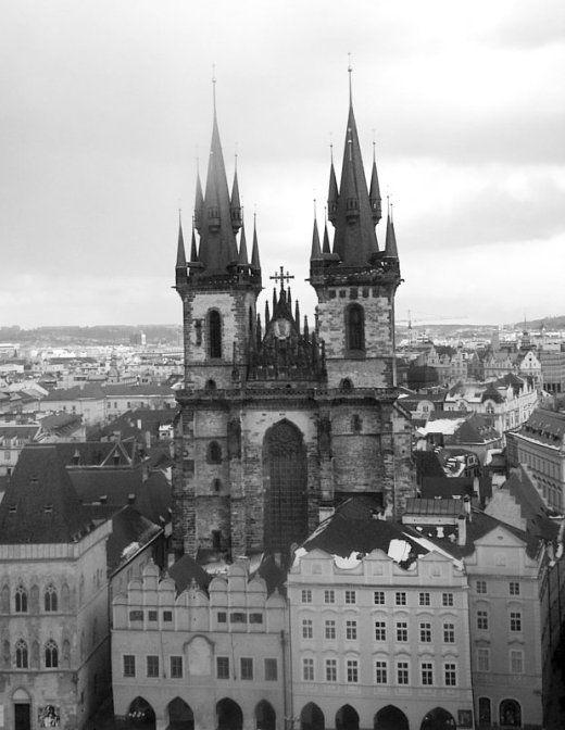 Прага: фото черно-белые | Фото в монохроме