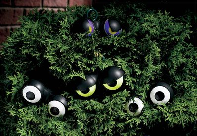 """5 Spooky Halloween Gadgets and Decorations.. including """"Peep n' Peepers""""..."""