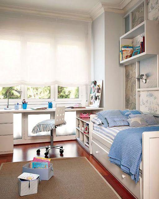 Jurnal de design interior - Amenajări interioare, decorațiuni și inspirație pentru casa ta: Camera copilului în alb și albastru