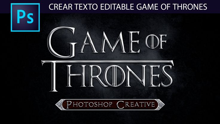 Tutorial Photoshop: Crear Wallpaper Editable Estilo Game of Thrones by @...