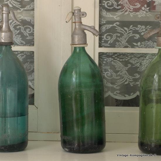 Lovely siphon bottles