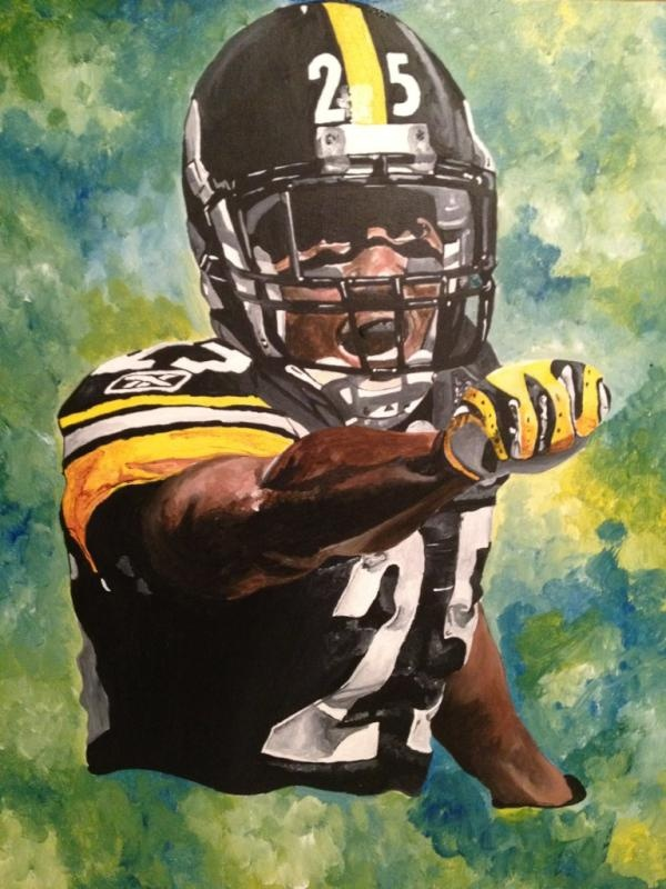Pittsburgh art at its finest :) Courtesy of @cassieg622 & @RealRClark25Pittsburgh Art
