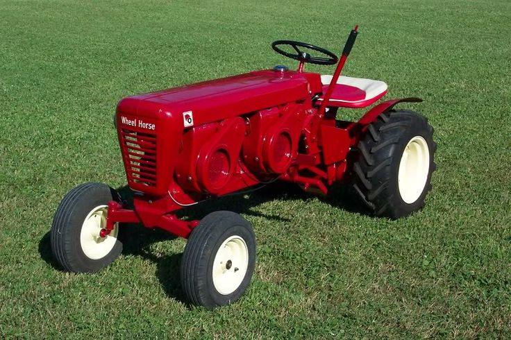 Lawn Tractor Dual Wheels : Best toro wheel horse images on pinterest ih cub
