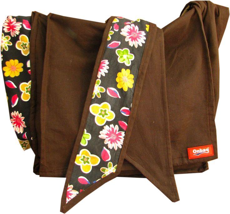 DIY Pattern | Onbag / Diaper bag that can be worn while baby wearing! (: