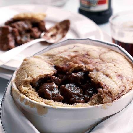 Best of British steak & kidney pudding