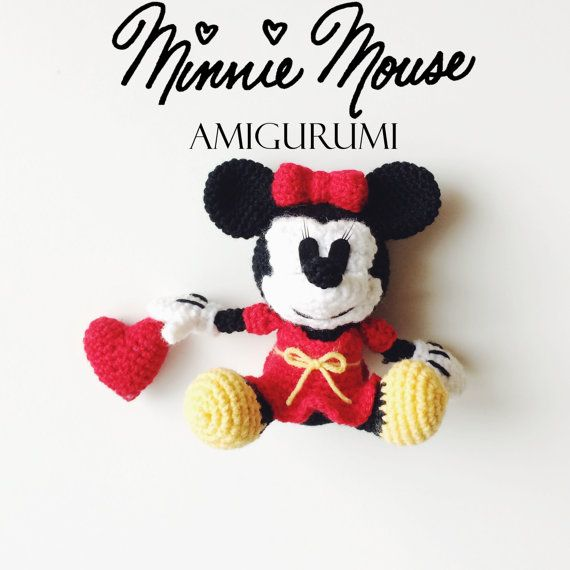 Amigurumi Mouse Pattern Crochet : Minnie mouse amigurumi crochet pattern pdf patterns