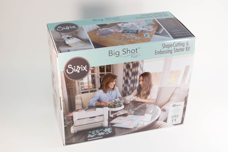 Enter to win the Big Shot Plus Starter Kit! Giveaway compliments of AllFreePaperCrafts and Sizzix!