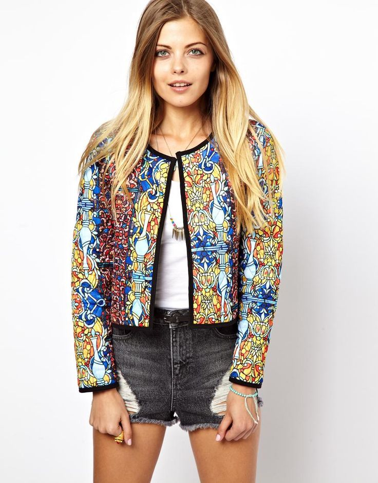 ASOS+Jacket+with+Stained+Glass+Print