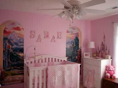 Princess Theme Nursery