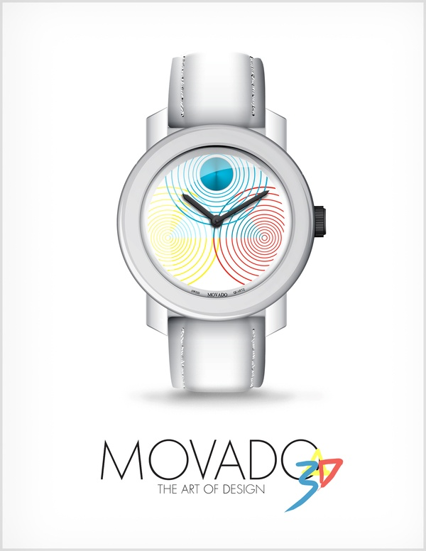 Movado Bold_3d by Scott Young