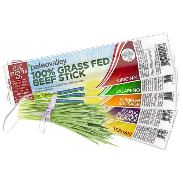 The Perfect Gut Friendly Clean Protein Snack For On The Go Beef Sticks Grass Fed Beef Healthy Protein Snacks