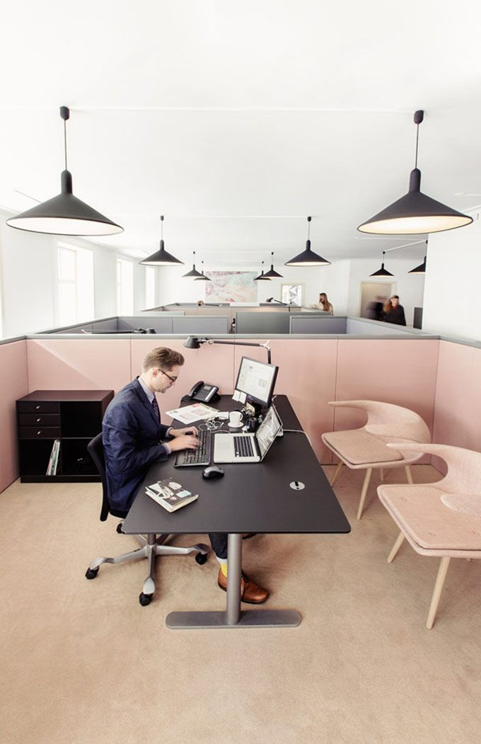 Architect And Designer Helle Flou, Founder Of Copenhagen Based HelleFlou,  Was Responsible For The Design Of The Offices For The Danish Fashion And  Textile ...