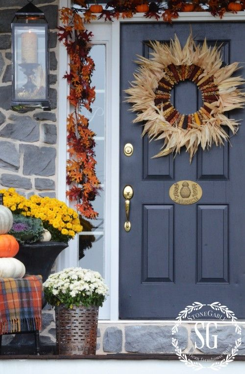 FALL FRONT PORCH Make your front porch so welcoming this fall. Lots of inspiration and images!