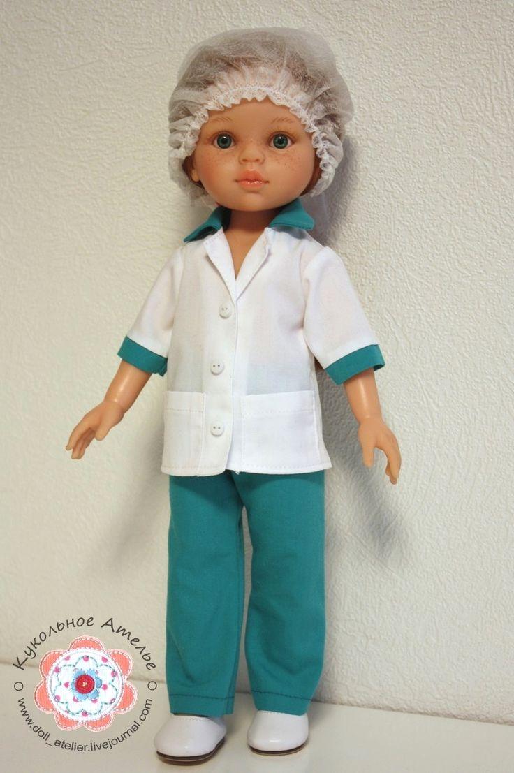 Nurse uniform Paola Reina, free pattern