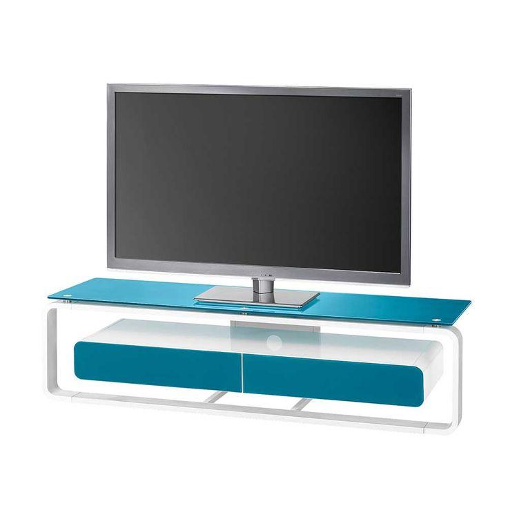 TV Tisch in Blau Weiß Glas Jetzt bestellen unter: https://moebel.ladendirekt.de/wohnzimmer/tv-hifi-moebel/tv-lowboards/?uid=86d89fcb-d648-506f-b71f-613a5d2ad9d9&utm_source=pinterest&utm_medium=pin&utm_campaign=boards #fernsehboard #fernsehmöbel #rack #phonoschrank #tvboard #fernsehunterschrank #tische #tvhifimoebel #lowboard #fernsehtisch #unterschrank #möbel #phonomöbel #bank #fernseher #tvtische #fernseh #sideboard #tvlowboards #wohnzimmer #kommode #board
