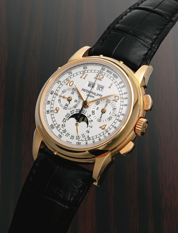 Patek Phillippe 5970 with Breguet Numerals, ordered by Eric Clapton