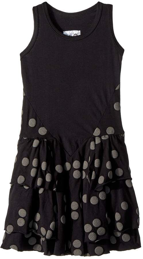 Nununu - Braille Layered Dress Girl's Dress