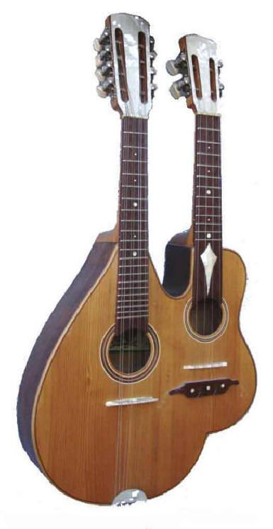 Bandolim / Cavaquinho built by Miguel Rodrigues in 1980 --- https://www.pinterest.com/lardyfatboy/