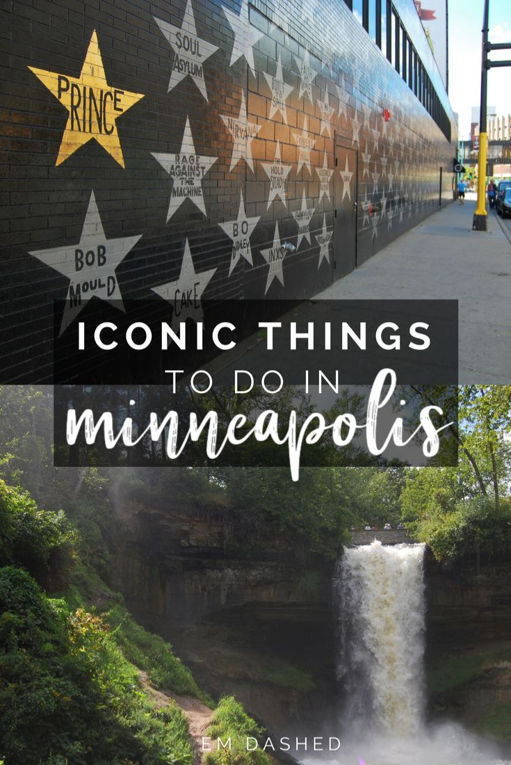 It's kind of hard to get to Minneapolis, Minnesota on accident -- so here's why you should get there on purpose. Click through for a list of iconic experiences you can only find in this Midwest US city -- including Minnehaha Falls, the Mississippi River, a Jucy Lucy at Matt's, and more.   #Minneapolis #Minnesota #USA
