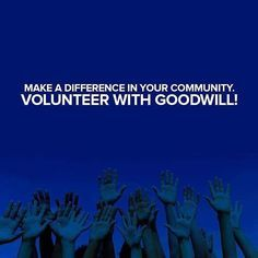 Goodwill is now offering volunteers the chance to help further its mission of providing education, training and employment opportunities. Get started at giveit2goodwill.org/volunteer #Goodwill #Nashville #Nashvilletn #volunteernashville  #nashvillevolunteers