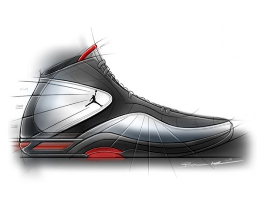 A project from Ben Adams-Keane back in these J's might be some of the  nicest i've seen in quite some time, not to mention the sketches and  renders are