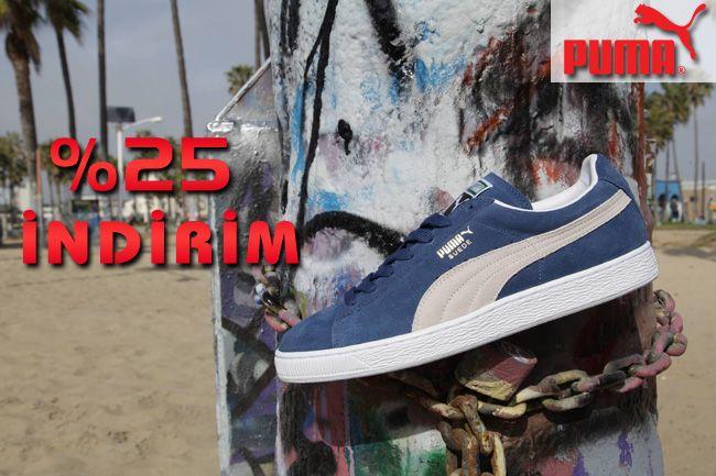 Puma'nın en Trend modelleri şimdi ayakkabidunyasi.com.tr 'de %25 indirimli! Stoklarla sınırlı bu fırsatı kaçırmayın...  http://goo.gl/84MbL7