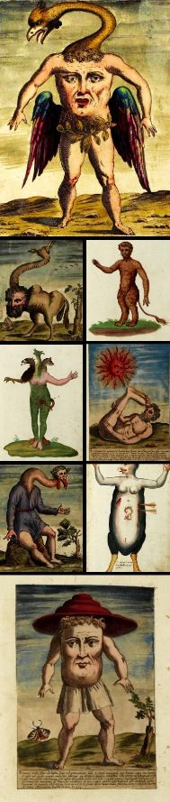 Ulisse Aldrovandi's History of Monsters (Monstrorum Historia, 1642)