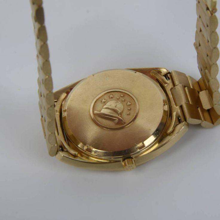 Reloj OMEGA CONSTELLATION de oro de segunda mano E271884 | Tienda online de segunda mano #reloj #vintage #coleccionismo #Omega #oro