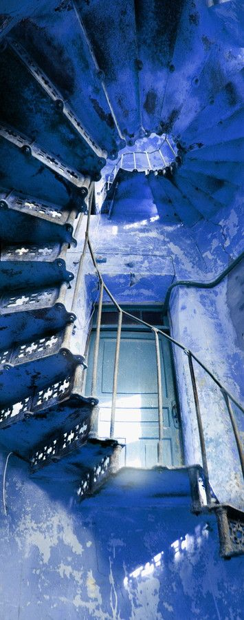 Photograph-of-Stairs-Showcase-6 -- #stairs #blueness
