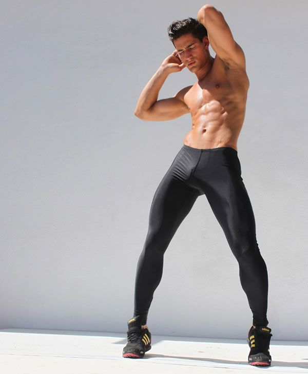 If you're new to mantyhose, our opaque microfiber tights for men are a great start. These thick matte men's tights pair great cool weather coverage with put together Euro-style. Create a fashion-forward uptown look by wearing these men's tights with a blazer, black shorts and black dress shoes.