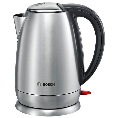 Buy Bosch Town TWK78A01GB Stainless Steel Kettle, Silver Online at johnlewis.com