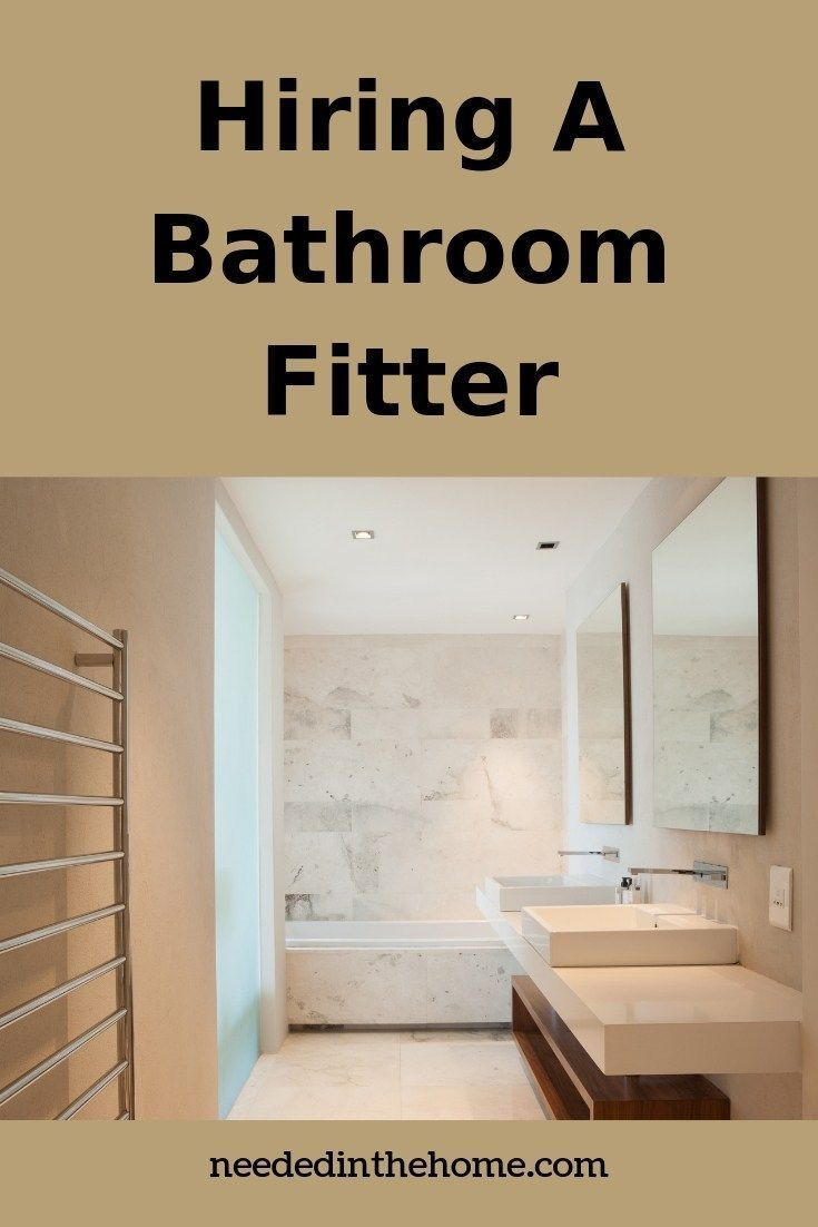 There Are Many Things To Consider Before Hiring A Bathroom Fitter From Fixtures And Fittings To Bathroom Fitters Bathroom Renovation Diy Diy Bathroom Makeover