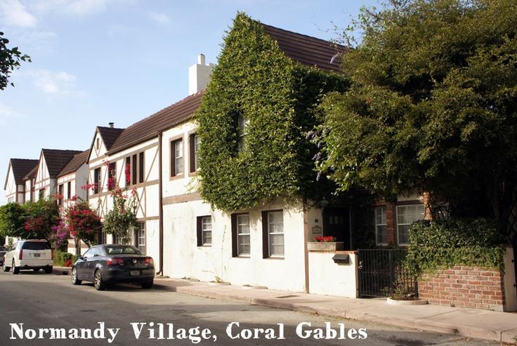 Normandy Village, Coral Gables Florida