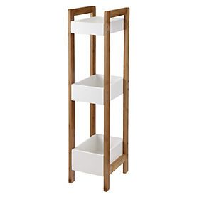 Wooden 3-tier Bathroom Storage Unit  sc 1 st  Pinterest & 41 best Bathroom Ideas images on Pinterest | Bathroom ideas ...