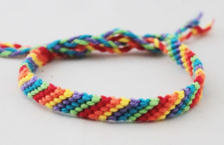 Armbandjes in de kleuren van de regenboog | Good2get
