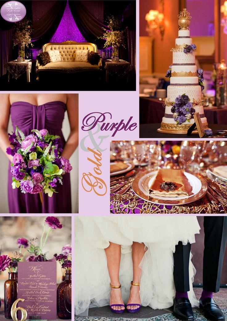 25 best ideas about purple gold weddings on pinterest. Black Bedroom Furniture Sets. Home Design Ideas