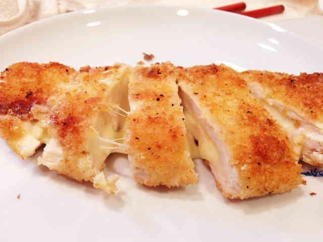 揚げずに簡単☆ササミチーズフライの画像