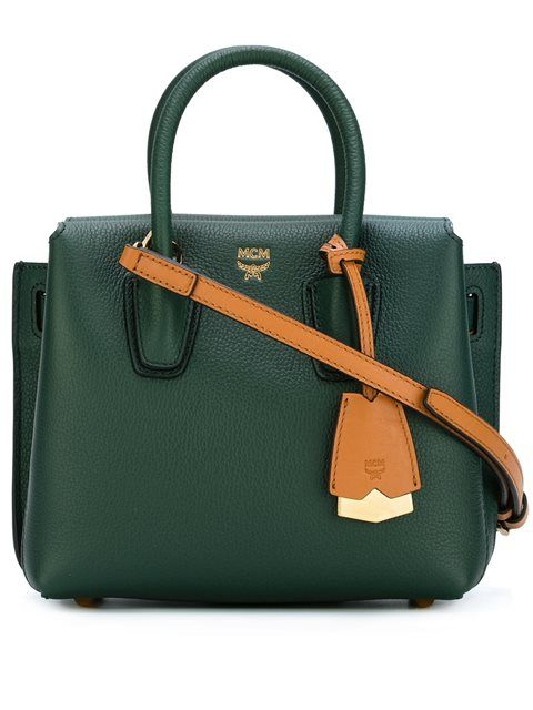 Mcm Classic Tote  - Spazio Pritelli  | Ugh YES! This bag...in love with the forest green colour too.