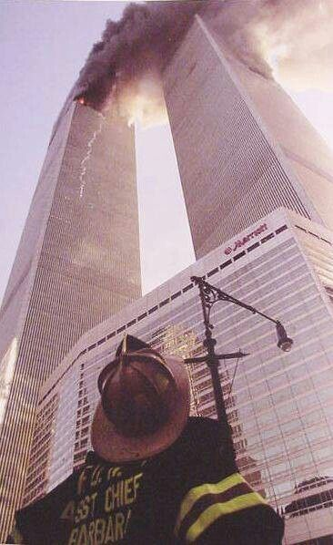 *9/11 ~ WORLD TRADE CENTER, never forget, September 11th, 2001, firefighter, smoke, Twin Towers, the day the world changed, photo