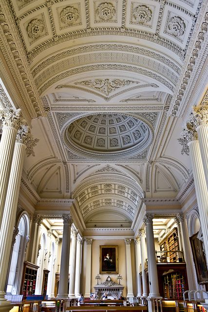 The great library at Osgoode Hall in Toronto, Canada (by Greg David).
