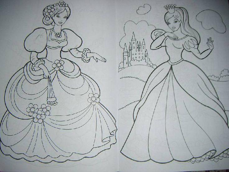 Иллюстрация 4 из 6 для Раскраска: Сказочные принцессы | Лабиринт - книги. Источник: Iwolga