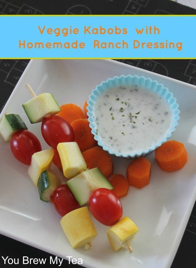 This Healthy Homemade Ranch Dressing is a great choice to have with ...
