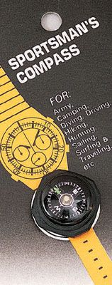 Watchband Wrist Compass- Vermont's Barre Army Navy Store