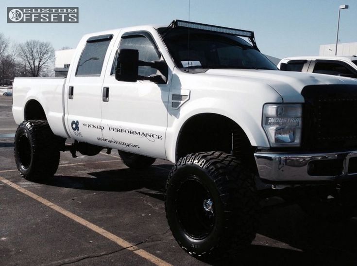 2008 Ford F 250 Super Duty Fuel Hostage Rough Country Suspension Lift 8in