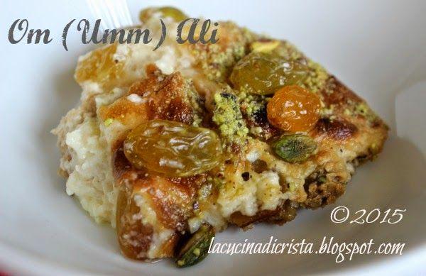 La cucina di Cristina: Om Ali ( o Umm Ali) per la I del Il Cairo ( Egitto) del'Abbecedario Culinario