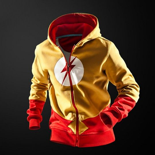 3f1c2a237e4b Hoodie Flash DC Comics Art Universe – Shop merchandise on